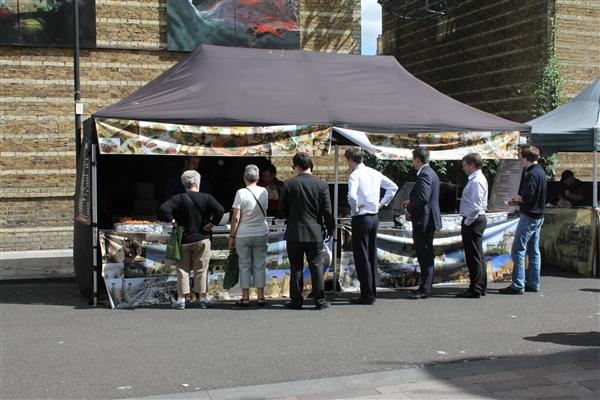 Market's are back due to popular demand and offer successful lunch-deals in urban London.